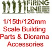 1/15th/120mm Scale Building Parts & Diorama Accessories