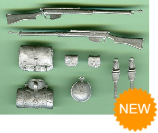 Boer War Weapons and Equipment Set