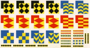 7mm/'O' Gauge Railfreight Sector Markings - Large Format for Classes 37, 50, 58 & 60