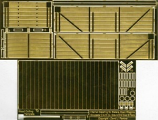 Internal Detailing Sets for Slaters Private Owner Wagons Gloucester C & W Co. 6 Plank Side/End Door