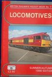 British Railways Pocket Book 1 Locomotives Summer-Autumn 1996