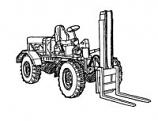 RAF Eager Beaver Fork Lift Truck