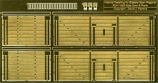 Internal Detailing Sets for Slaters Private Owner Wagons RCH 8 Plank Side Door