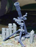 US Army M.252 81mm Mortar