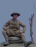 British Infantryman [Sitting Pose]- C.1915-17