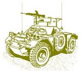 Ferret M.1/2 Light Reconnaissance Vehicle