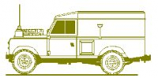 Land Rover 109 Hard Top Conversion, Detail & Fittings Set - for use with Italeri/Revell kits