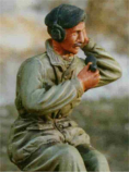 British AFV Crewman [Sitting Pose]