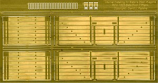 Internal Detailing Sets for Slaters Private Owner Wagons RCH 7 Plank Side Door