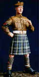 Scottish Regimental Military Policeman, 1937-1960s