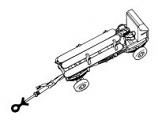 RAF Oxygen/Nitrogen Trolley Set