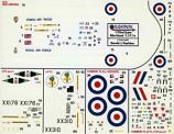 RAF Hawk T.1 + 1991 Red Arrows {T.1a} Decal Sheet
