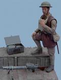 British Infantryman/Machine Gunner - C.1916-18