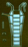 F.105 Thunderchief Ladder