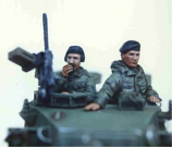 British Army AFV Crew - 1960s-1980s